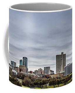 Downtown Fort Worth Trinity Trail Coffee Mug