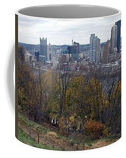 Downtown From Emerald Park Coffee Mug
