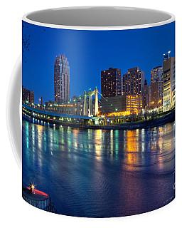 Downtown Minneapolis Skyline Hennepin Avenue Bridge Coffee Mug