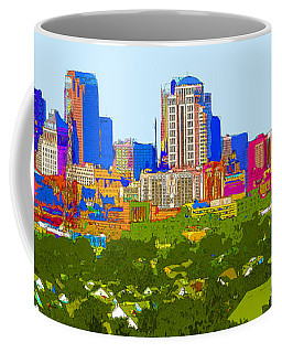 Downtown St. Louis From The Southwest Abstract Coffee Mug