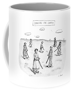 Dowsing For Coffee Coffee Mug
