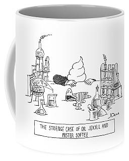 Dr. Jekyll Transforming Into Mister Softee Coffee Mug