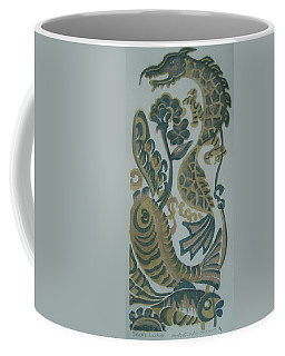 Dragon And Fish Coffee Mug