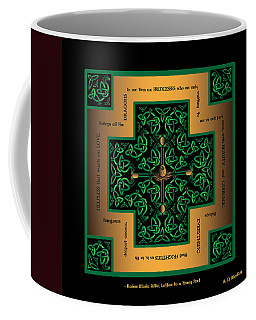Dragon Egg Celtic Cross Coffee Mug