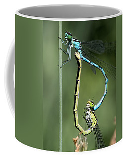 Dragon Fly Coffee Mug by Leif Sohlman