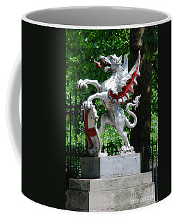 Dragon With St George Shield Coffee Mug