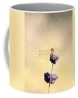 Coffee Mug featuring the photograph Dragonfly by AJ  Schibig