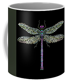 Dragonfly Bedazzled Coffee Mug