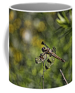 Dragonfly Coffee Mug by Daniel Sheldon