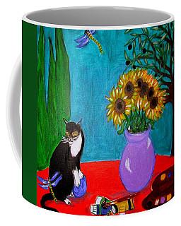 Dragonfly Days In Provence Coffee Mug