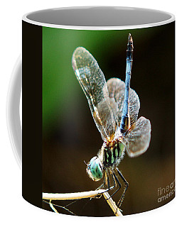 Dragonfly Headstand Coffee Mug