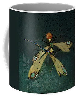 Dragonfly Romance Coffee Mug