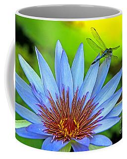 Dragonlily 2 Coffee Mug by Larry Nieland