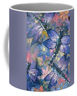Coffee Mug featuring the painting Dragons  by Megan Walsh