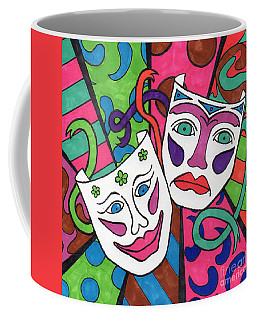Drama Masks Coffee Mug