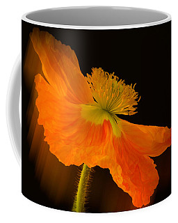 Dramatic Orange Poppy Coffee Mug