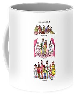 Dramatis Personae Coffee Mug