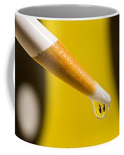 Happy Water Drop Pencil Coffee Mug