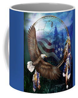 Dream Catcher - Freedom's Flight Coffee Mug