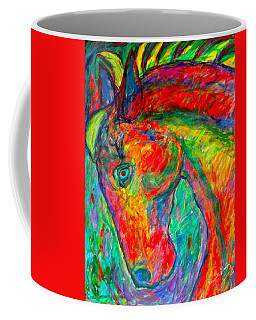 Dream Horse Coffee Mug by Kendall Kessler