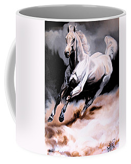 Dream Horse Series 20 - White Lighting Coffee Mug