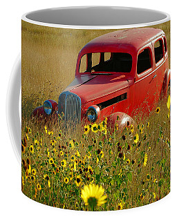 Coffee Mug featuring the photograph Dream Left Behind by Leticia Latocki