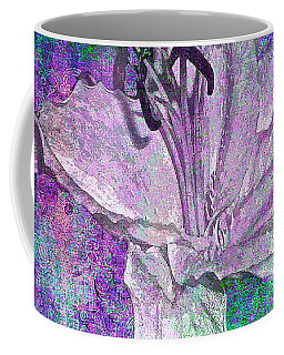 Dream Lily Of White Coffee Mug by Saundra Myles