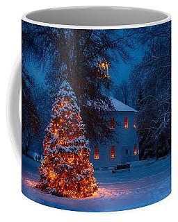 Christmas At The Richmond Round Church Coffee Mug