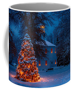 Christmas At The Richmond Round Church Coffee Mug