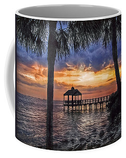 Coffee Mug featuring the photograph Dream Pier by Hanny Heim