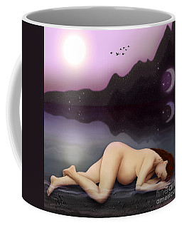 Dreaming A Life Coffee Mug by Rosa Cobos