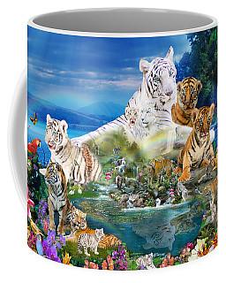 Dreaming Of Tigers  Variation  Coffee Mug