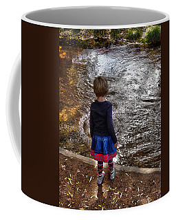 Coffee Mug featuring the photograph Dreaming On Water					 by Lanita Williams