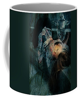 Coffee Mug featuring the digital art Dreamweaver Urban Fantasy by Galen Valle