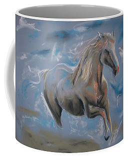 Coffee Mug featuring the pastel Dreamworks by Peter Suhocke