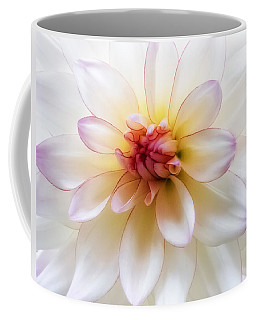Coffee Mug featuring the photograph Dreamy Dahlia by Mary Jo Allen