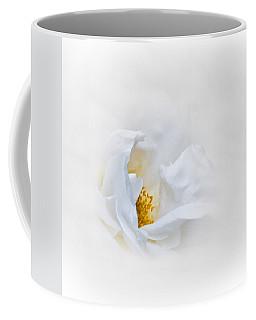 Dreamy White Rose Coffee Mug by Jane McIlroy