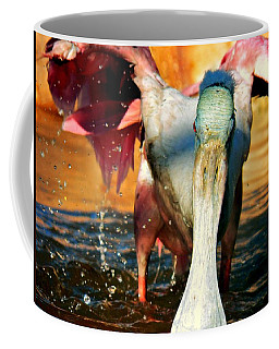 Coffee Mug featuring the photograph Drenched by Faith Williams
