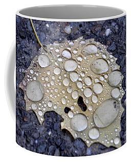 Drenched Leaf Coffee Mug