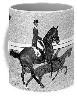 Dressage Une Noir Coffee Mug by Alice Gipson