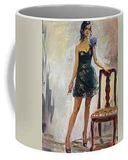 Dressed Up Girl Coffee Mug