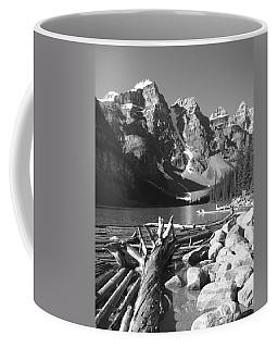 Driftwood - Black And White Coffee Mug