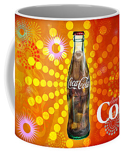 Coffee Mug featuring the photograph Drink Ice Cold Coke 4 by James Sage