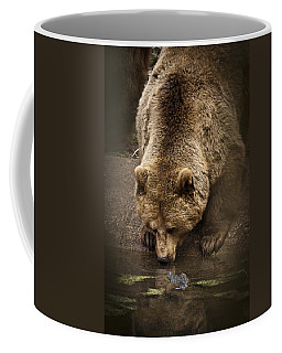 Drinking Brown Bear Coffee Mug