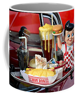 Coffee Mug featuring the photograph Drive-in Food Classic by Carolyn Marshall