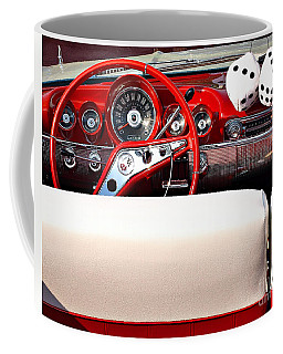 Drive-in Lounge - 1960 Chevy Coffee Mug