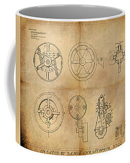 Drive Mechanism Coffee Mug