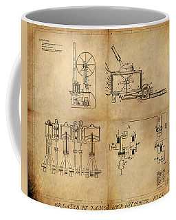 Drive System Assemblies Coffee Mug by James Christopher Hill