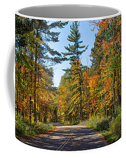 Drive Through Splendor In Minnesota Coffee Mug