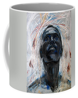 Coffee Mug featuring the drawing Drought by Gabrielle Wilson-Sealy